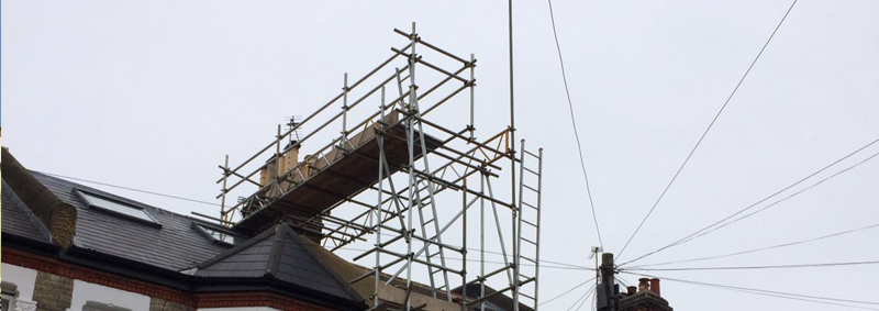Scaffolding services across Mitcham, Surrey & South London.
