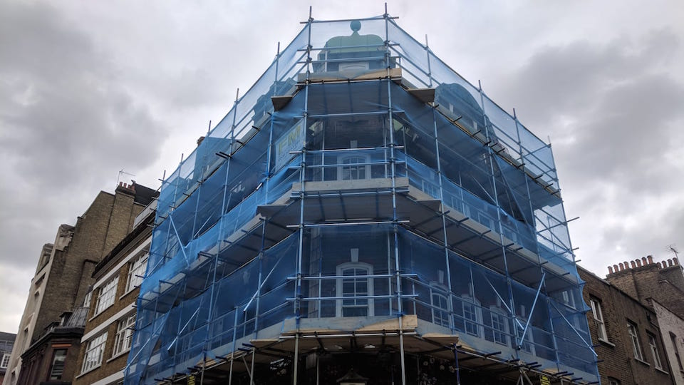 Scaffolding company Kingston